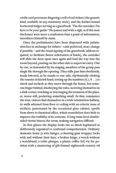 The Caretaker by Doon Arbus pg 6